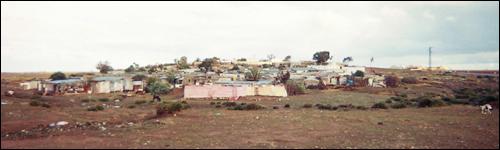 A panoramic view of Benshasha