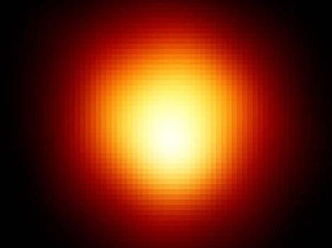 Astronomical image of Betelgeuse courtesy of NASA.