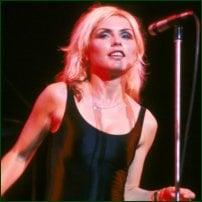 Debbie Harry, Blondie's lead singer.