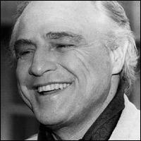 Marlon Brando in 1977.