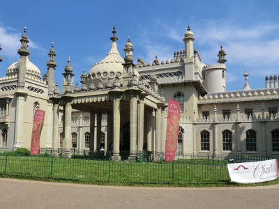 A photo of Brighton Pavilion