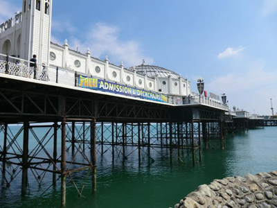 A photo of Brighton Pier
