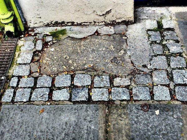 Brutus Stone in Totnes.