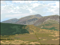 A view of Cadair Idris