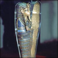 Tutankhamun's Canopic jar.