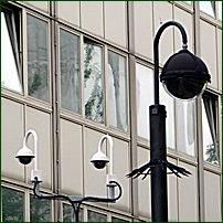 Some CCTV cameras.