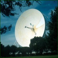 Jodrell Bank in Cheshire.