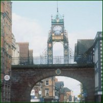 The market town of Chester.