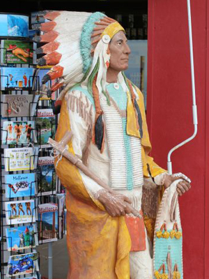 Cigar Store Indian model