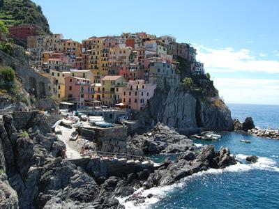 The village of Manarola in the Cinque Terre