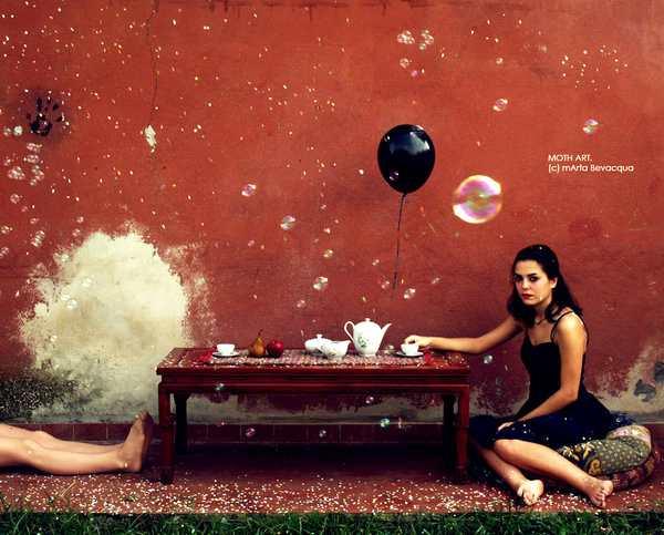 The sound of the circus tea-room by Marta Bevacqua.