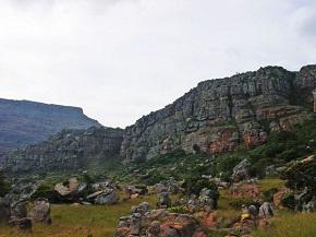 Rocks towards Summit