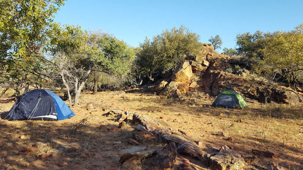 Campsite by Willem