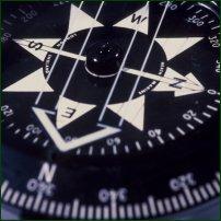A compass.