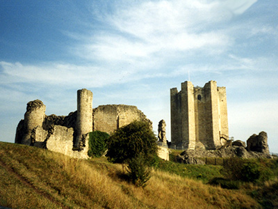 Conisbrough Castle.