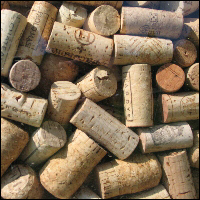 Loads of corks.