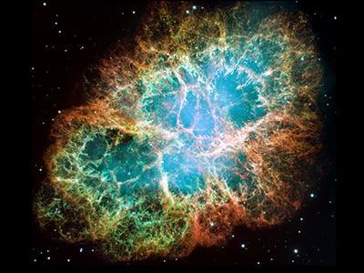 The Crab Nebula, picture courtesy of NASA