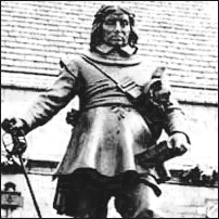 Actor Jim Carter as Oliver Cromwell.'