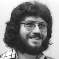 Dave Lee Travis, presenter of 'The Golden Oldie Picture Show'.