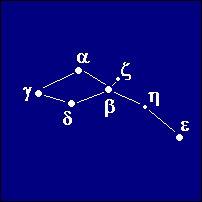 The constellation Delphinus.