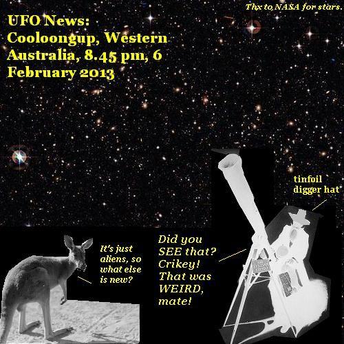 UFOs visit western Australia again