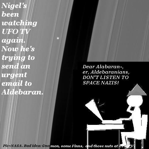 Nigel sneds an email to Aldebaran.
