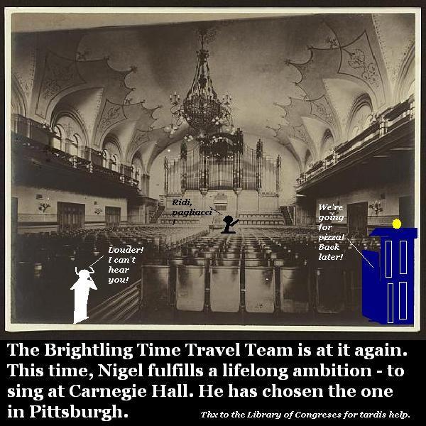 Nigel sings at Carnegie Hall.