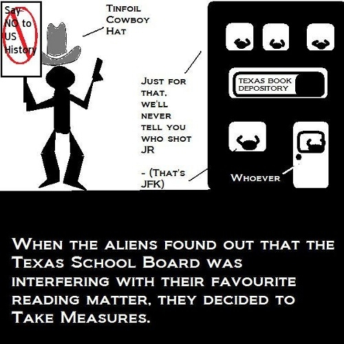 Education the Texas School Board way.