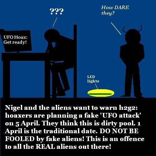 Hoax alert.