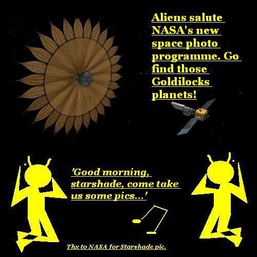 NASA's Starshade.