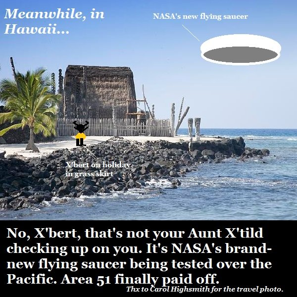NASA has its own UFO nowd.