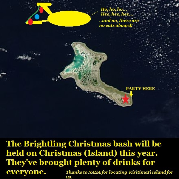 The Brightling crowd visit Christmas Island.
