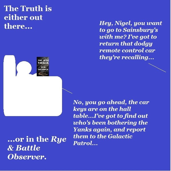Nigel and X'Bert respond to the latest news from the Rye and Battle Observer.
