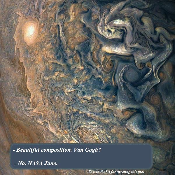 Juno, by NASA