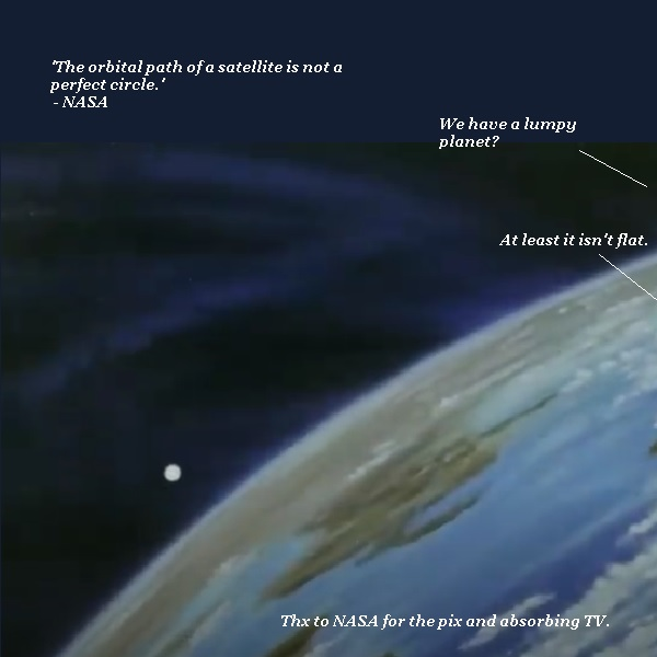 The Earth is not exactly round, NASA explains. But it's not flat, either.
