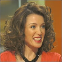 Dannii Minogue, who starred as Emma Jackson in Home and Away.