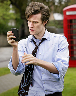 Matt Smith as the Doctor in the 2010 Doctor Who episode The 11th Hour