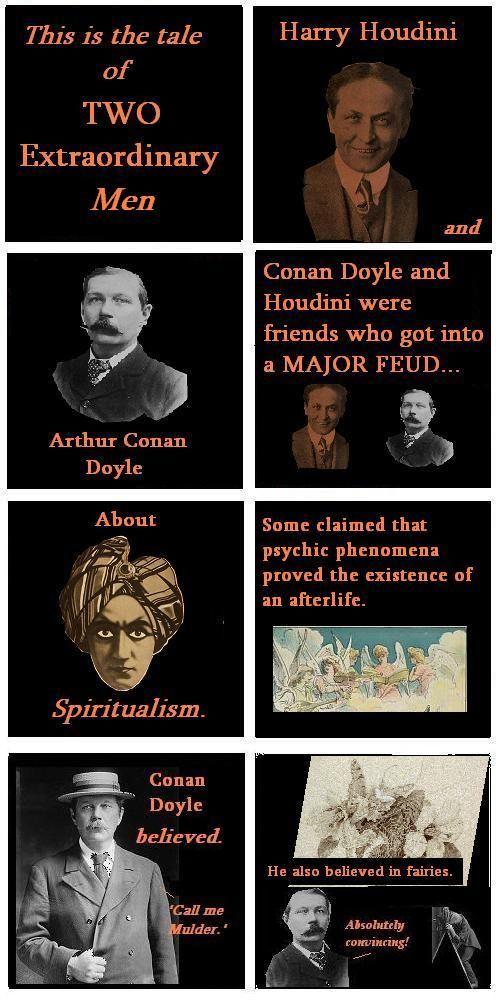 The saga of  Conan Doyle vs Houdini