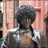 Dublin Statue: Phil Lynnott