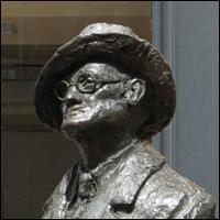 Dublin Statue: James Joyce