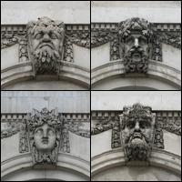 Dublin Statue: Riverine Heads