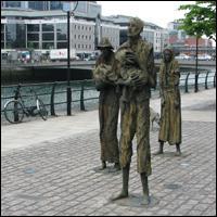 Dublin Statue: Famine