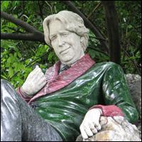 Dublin Statue: Oscar Wilde