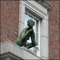 Dublin Statue: Birdy