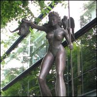 Dublin Statue: Queen Maedhbh