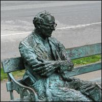 Dublin Statue: Patrick Kavanagh