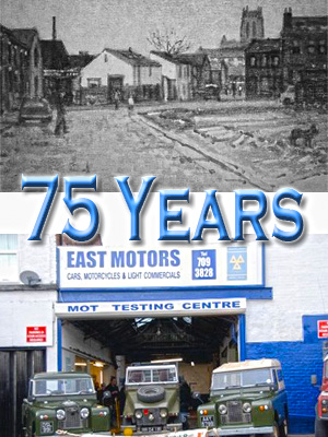 East Motors - 75 Years of Service