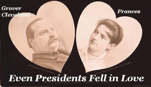 Even presidents fell in love.