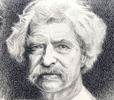 Mark Twain by Willem.