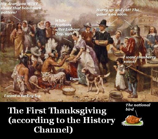 The First Thanksgiving?